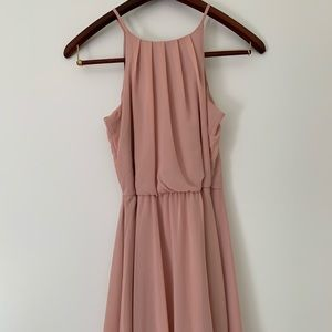 Cute blush pink dress from Francesca's